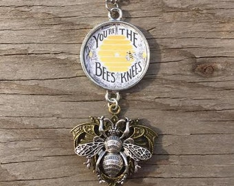 You're the Bees Knees Pendant Necklace