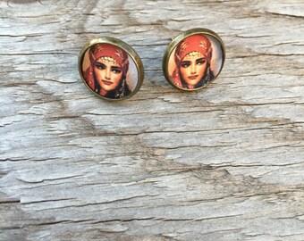 Gypsy Post Earrings