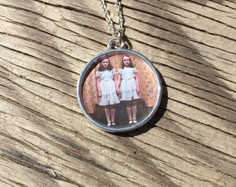 The Shining Twins Pendant Necklace