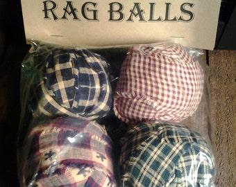 Primitive Rag Ball Bowl Filllers