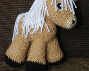 Crocheted Amigurumi Horses / Crochet Horse