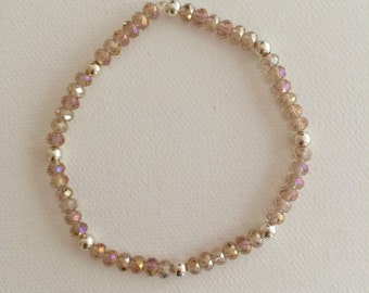 Light Pink Stretch Bracelet