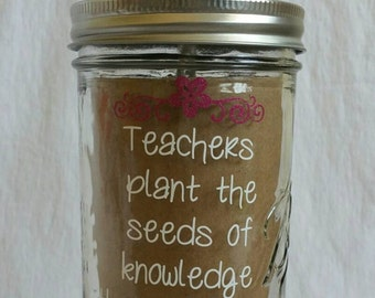 Customizable Teacher appreciation Tumbler
