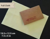 1pc Sunshine Polishing Cloth for jewelry cleaning, best for gold, silver, copper, brass - 3 size to choose - individual package