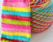 "Self-Striping Yarn - ""Make It Pop"""