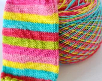 Hand Dyed Self Striping Yarn - Make It Pop