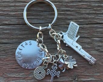Boondock Saints inspired keychain