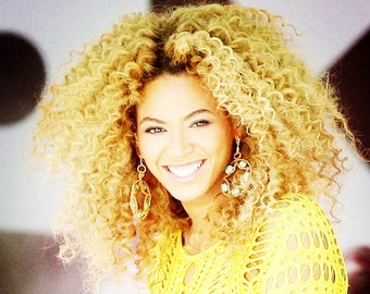 blonde thick rich hair  Brazilian Virgin Human Hair curly Wave human hair Extension human hair weaving hair weft FREE SHIPPING