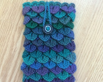 Phone/Tablet/Kindle/Nook Case/Sleeve/Cover Crocodile Stitch Crochet