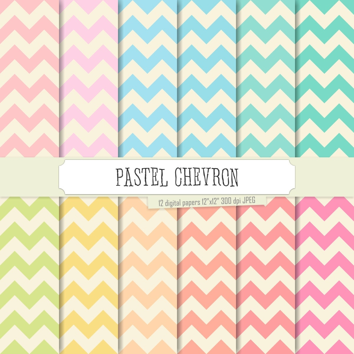 pastel chevron wallpaper - photo #13
