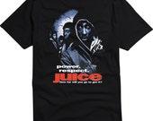 Original Juice Tupac 2pac Movie Poster Shirt Black
