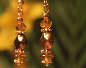 Copper Dangles #1574