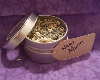 New Moon Loose Incense Herbal Blend