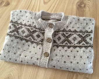 Norwegian Sweater - Cardigan