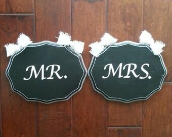 Mr. & Mrs. Plaques