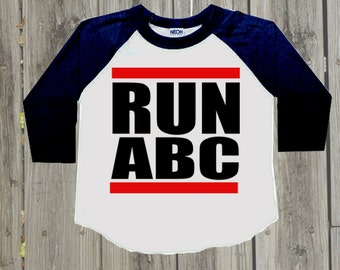 Baby boy clothes. Hipster Kids clothes. Toddler boy 1 year old 2 year old 3 year old 4 year old 5 year old 6 year old birthday Run DMC shirt