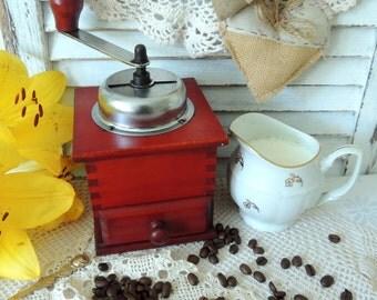 Vintage Coffee Grinder Mill, Home Kitchen Vintage Retro Old Decor Decoration Ornament, Kitchen Decor, Kitchen Ornament, Collectibles