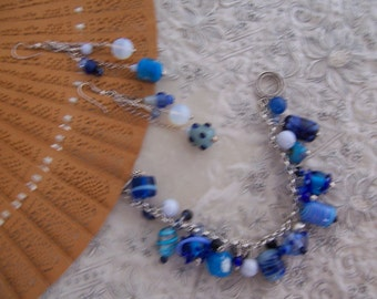 OOAK Swingin' the Blues! parure