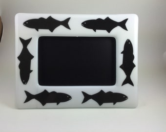 Fused Picture Frame (BLUEFISH)