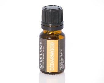 Cedarwood Pure Therapeutic Grade Essential Oil 10mL - Natural Aroma, Woodsy, Room Fragrance