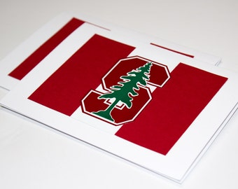 Stanford University Cardinal & White Greeting Cards | Buy Any 4 Cards, Get 1 FREE