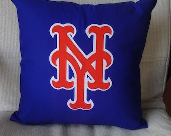 NY Mets Pillow, Pillow cover, Mets Jersey Pillow, Mets baseball, NY Mets,  NY Baseball