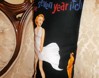 The Seven Year Itch handmade pillow Marilyn Monroe