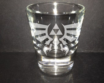 Legend of Zelda Triforce Shot Glass