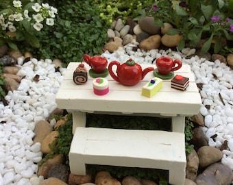 Fairy Garden Sweet Pea Tea Set