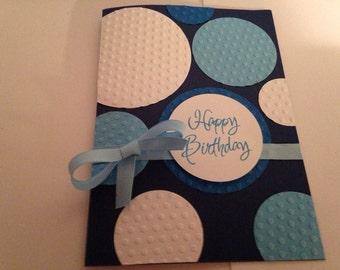 Handmade birthday greeting card #12