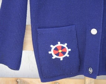 Vintage 1950s Style Sailor Sweater