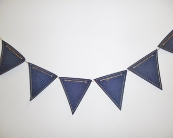 Denim Flag Bunting