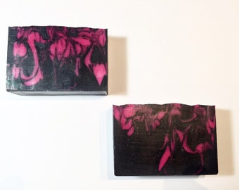 SALE Bombshell Soap, Women's Soap, Cold Process Soap,  Woods Soap, Exotic Soap, Homemade Soap, Handmade Soap, Summer Soap