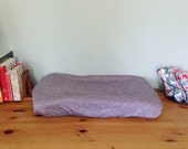 SPRING CLEANING - SALE - Purple Blend Changing Pad Cover - Washable - Fits Standard Changing Pads