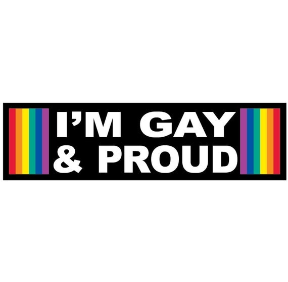 Im Gay And Im Proud 96