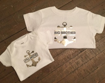 Big Brother Little Brother Anchor set