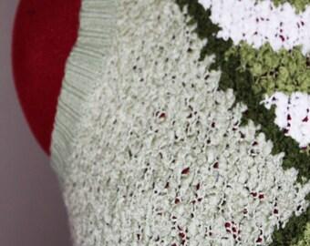 VTG 90s Quiky Green Sweater Vest