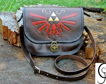 Legend of Zelda leather bag