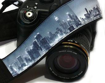 NewYork Camera Strap. DSLR Camera Strap. Canon Nikon Camera Strap. Camera Accessories