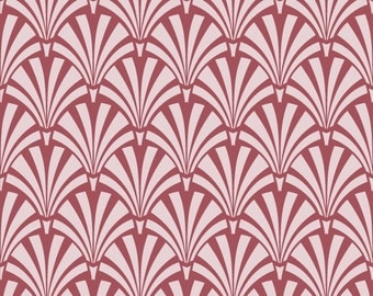 Reusable Wall Stencil Art Deco Allover Pattern.  Available In 10 or 14 Mil Mylar at no extra charge.  SKU: S0104