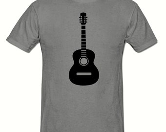 Guitar t shirt,mens t shirt sizes small- 2xl, gift,dad gift.