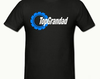 Top Grandad t shirt,mens t shirt sizes small- 2xl,fathers day gift,dad gift