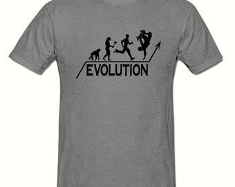 Skateboard Evolution t shirt, boys t shirt sizes 5-15 years,childrens t shirt