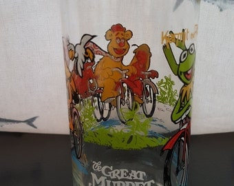 Great Muppet Caper Vintage Glass 1981