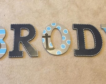 9 Inch Hand Painted Letter