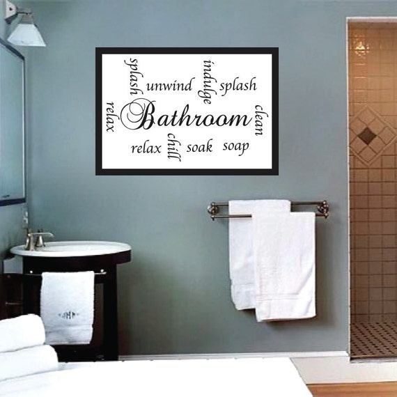 852 Bathtub Data Base Emails Contact Us Hk Mail: Bathroom Wall Sayings Mural Bathroom Wall Letters Decal