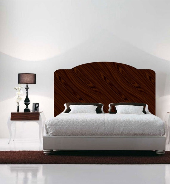 Mahogany Headboard Wall Decal Headboard For Bedrooms By