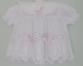 Vintage 1980s Baby Girl Dress Size 00