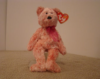 Ty Smitten the Teddy Bear Beanie Baby 2002