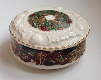 Galway Irish Porcelain lidded dish